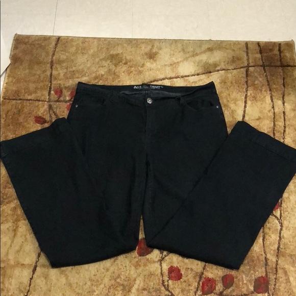 74d332d7a92 Ashley Stewart Denim - CLEARANCE Ashley Stewart Tall Bootcut Jeans Black